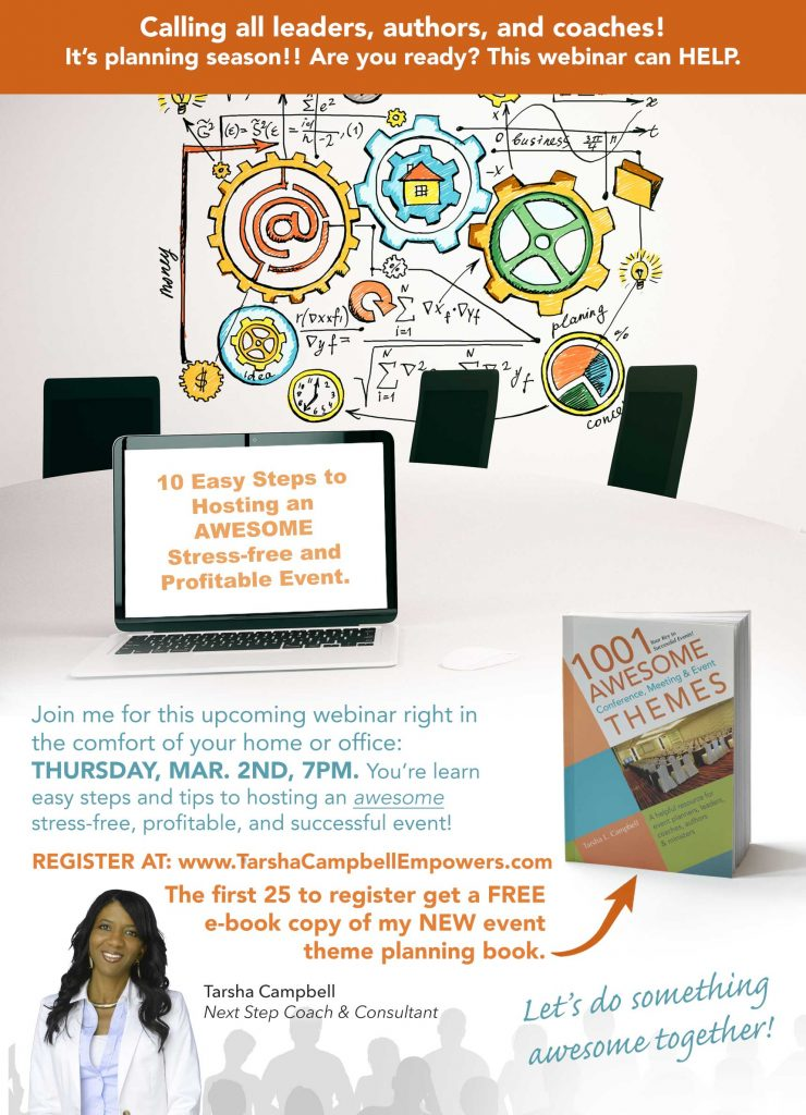 Event Planning Webinar Mar. 2nd