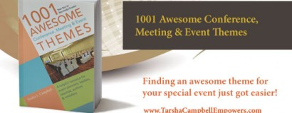 1001 Awesome Conference & Event Themes